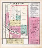 West Liberty, Atalissa, Adams, Muscatine County 1874